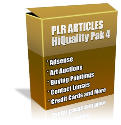 Pay for Buy PLR Articles Hi-Quality Pack 4 with Bonus