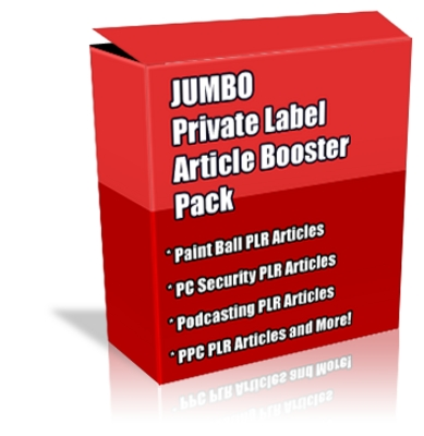 Pay for Buy JUMBO Quality PLR  Booster Pack + Special Bonuses