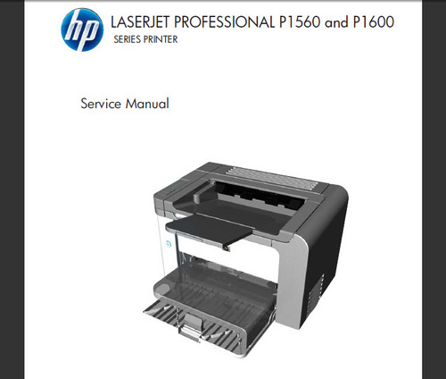Pay for HP LASERJET P1560 1600