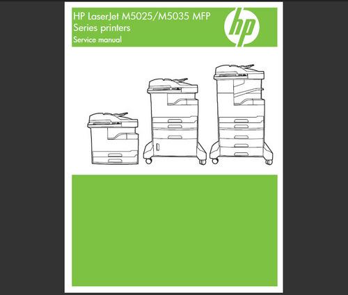 Hp laserjet m5025 m5035 printer service manual download manuals &.