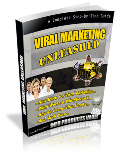 Pay for Discover The Amazing Viral Marketing Tactics in This ebook