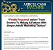 Thumbnail Article Cash Machine Ebook Website