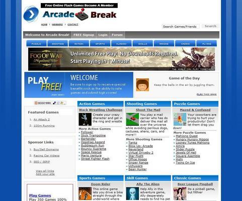 Pay for TURNKEY ARCADE WEBSITE SCRIPT + 3,400 GAMES + ADSENSE