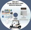 Thumbnail Club Car CLUBCAR Golf Cart 1984-2011 FACTORY REPAIR SERVICE