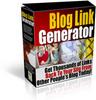 Thumbnail Blog Link Generator w/ MRR & PLR (2010)