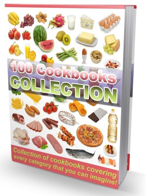 Pay for 100 Cookbooks Package