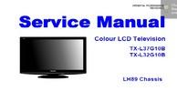 Thumbnail Panasonic TX L37G10B Service Manual