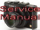 Thumbnail Panasonic Lumix DMC-LX7 Series Service Manual Repair Guide