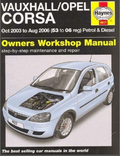Vauxhall opel corsa c workshop manual 2003 2006 year in pdf down pay for vauxhall opel corsa c workshop manual 2003 2006 year in pdf fandeluxe Image collections