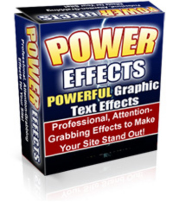 Pay for Power Effects 2.0 New Version - Powerful Graphics