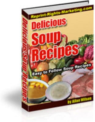 Pay for Super Soup Recipes