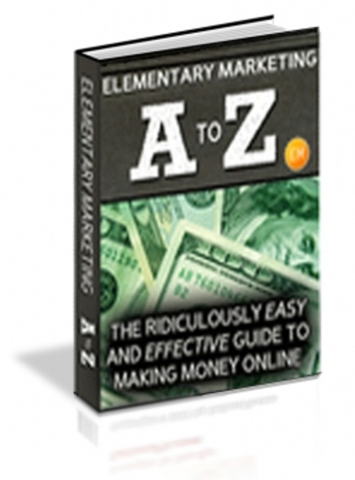 Pay for Elementary Marketing A To Z