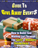 Thumbnail Guide to Give Away Events