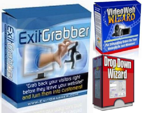 Pay for Exit Grabber - ExitGrabber plus bonuses  -Grab Your Visitors -Boosting Sales