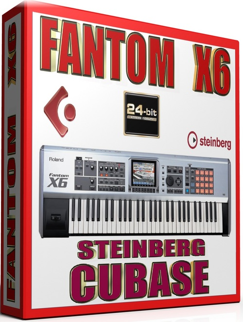 Pay for ROLAND FANTOM X6 SAMPLES STEINBERG CUBASE FXP 57GB *24-BIT*
