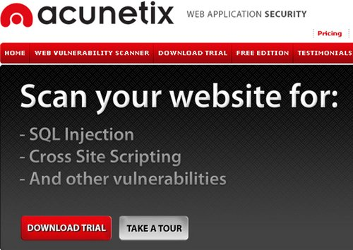 Acunetix Web Vulnerability Scanner Consultant Edition