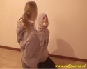 Thumbnail Girls in grey hoodies