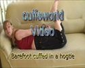 Thumbnail Barefoot cuffed in a hogtie