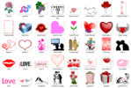 Thumbnail 100 Copyright Free Love & Valentines Day Images