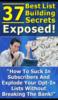 Thumbnail The Secret Is In Listbuilding