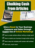 Thumbnail Chalking Cash For Articles - Making High Profits With Low Co