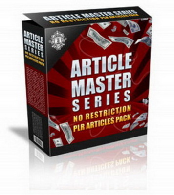 Pay for Article Master Series V.30 (PLR)