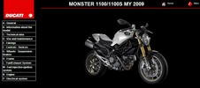 Thumbnail Ducati Monster 1100 Service Repair Manual 2009