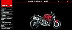 Thumbnail Ducati Monster 696 Service Repair Manual 2009