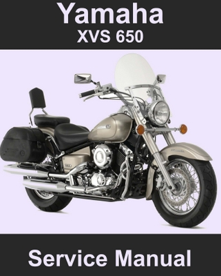 Yamaha Vstar Serivce Manual