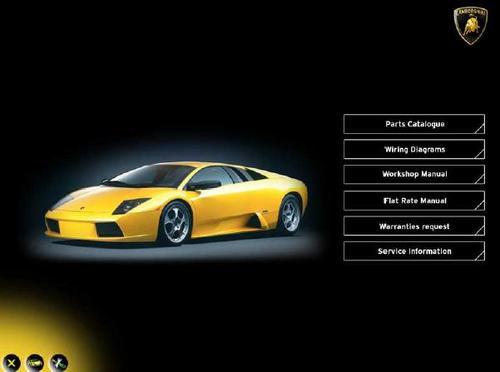Pay For Lamborghini Murcielago Service Repair Manual 2002   2003