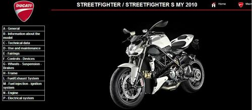 Pay for Ducati Streetfighter Service Repair Manual 2010