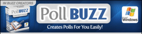 Thumbnail PollBuzz: Professional-looking voting poll  (MRR)