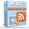 My Rss Converter: Web Pages Into RSS Feeds (MRR)