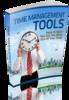 Thumbnail Time Management Tools E-book plus Website- mrr