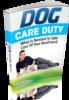 Thumbnail Dog Care Duty E-book and Reseller Website- mrr