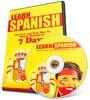 Thumbnail Complete Learn Spanish HTML Website