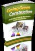 Thumbnail Going Green Construction mrr-E-book w Reseller Website