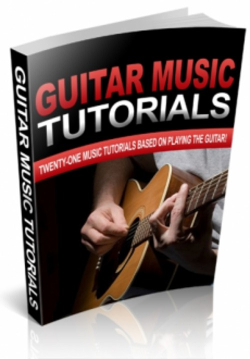 Pay for 21 Guitar Music Tutorials Document Format-PLR