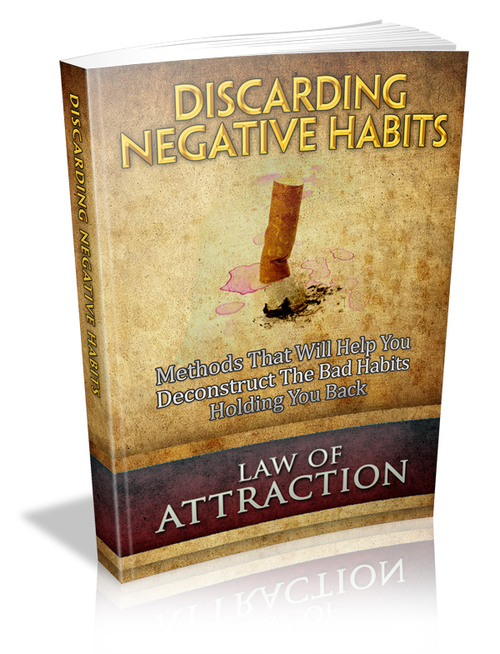 Pay for Law of Attraction Series-Discard Negative Habits