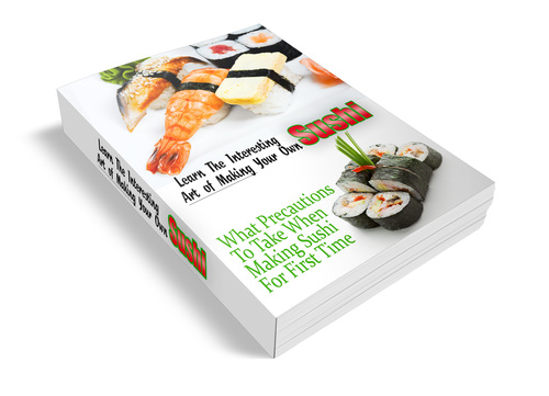 Pay for Learn To Make Sushi Website and Content