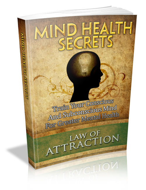 Pay for Law of Attraction Series-Mind Health Secrets MRR