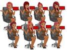 Thumbnail Businessdame angezogen mit roten Haaren