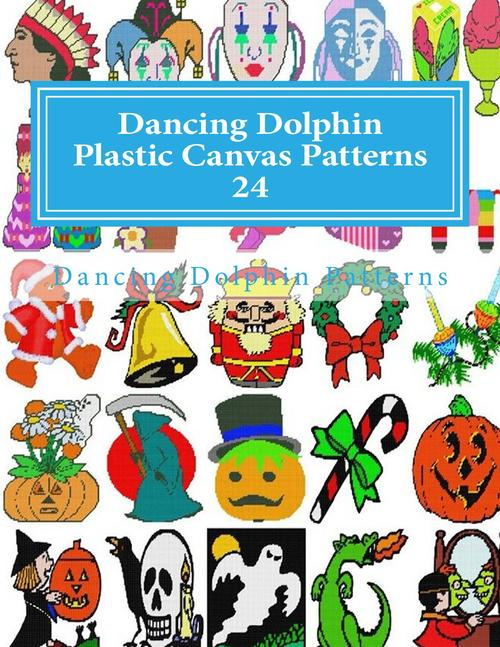 Pay for Dancing Dolphin Plastic Canvas Patterns 24