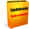 Thumbnail Large ebooks resell package - 15 ebooks package!