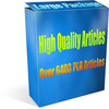 Thumbnail Large 6495+ PLR Article Package - Great content HIGH quality