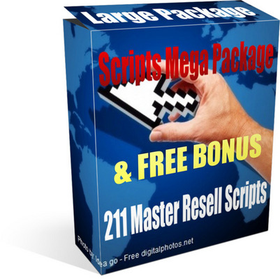 Pay for Scripts Mega Package - 211 Top Selling Scripts