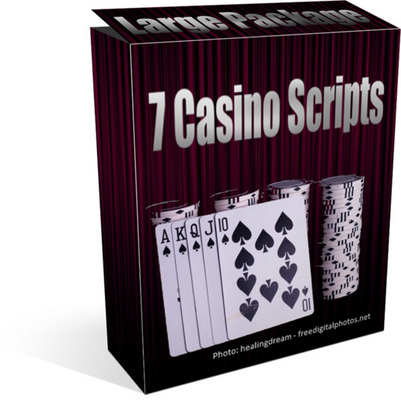 Pay for 7 Casino Scripts Package - PHP & CGI