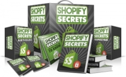 Pay for Shopify Secrets With Master Resell Rights