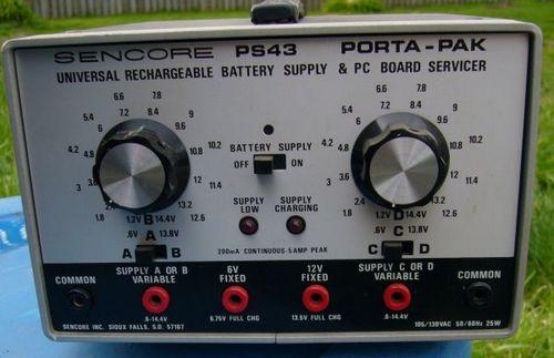 Pay for Sencore PS43 Porta-Pak Supply & Board Servicer