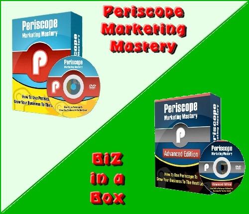 Pay for Periscope Marketig Mastery 2015 + Advanced UPSELL